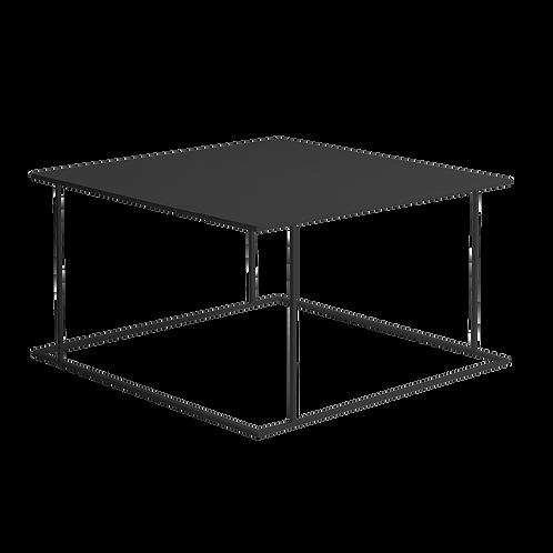 Coffee table WALT METAL 80, black