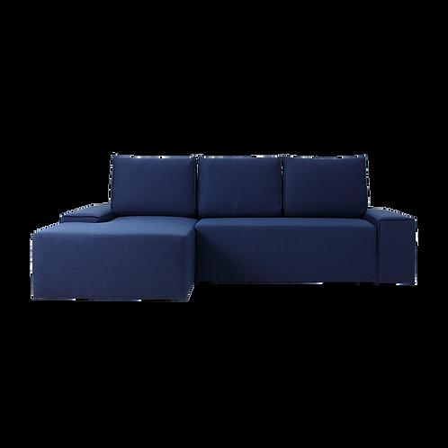 Corner Left Sofa Bed FLOPP, Inkjet (et80)