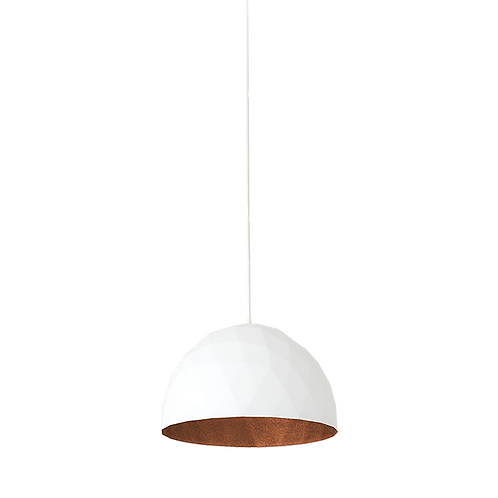 Ceiling Lamp LEONARD M - cooper-white
