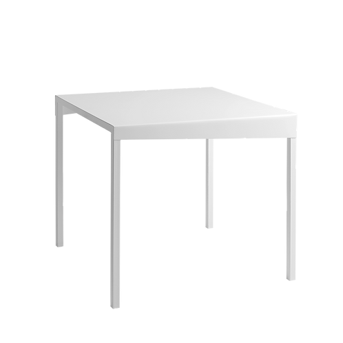 Dinning Table OBROOS METAL 80x80 - white