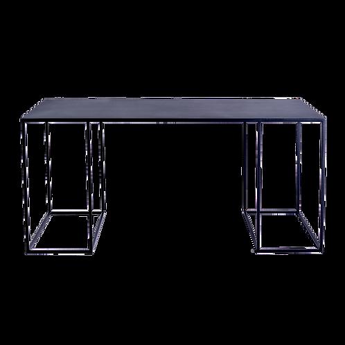 Coffee table TORGET METAL 100X60 - black