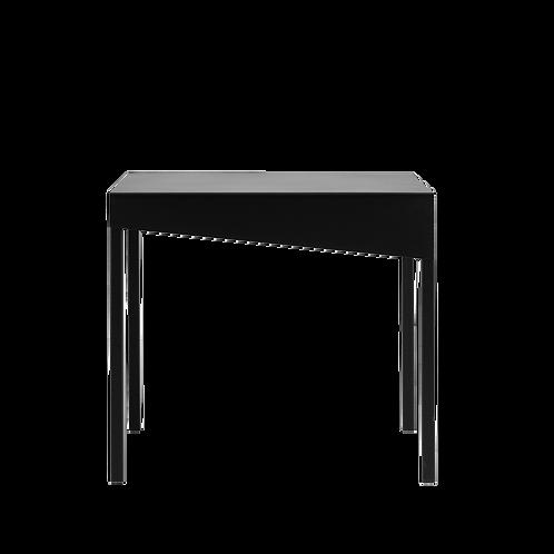 Coffee table OBROOS METAL 50, black