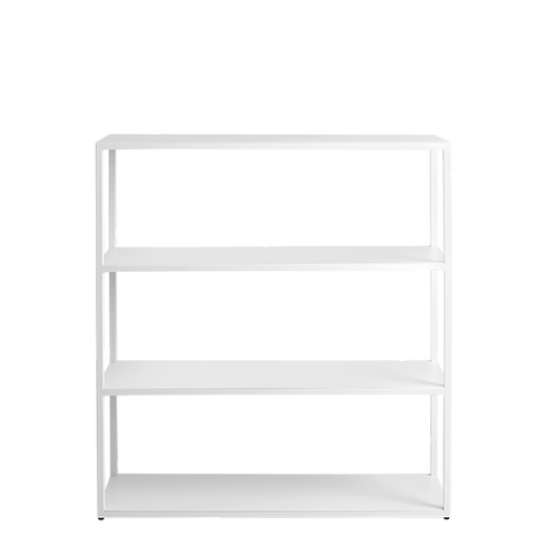 Bookstand HYLLER METAL 100x110, white