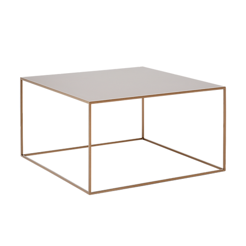 Coffee Table TENSIO METAL 80, gold
