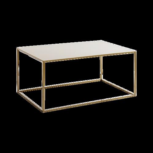 Coffee Table TENSIO  METAL 100x60, gold