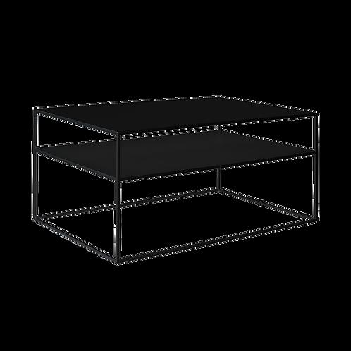 Coffee Table TENSIO 2 FLOOR METAL 100x60, black