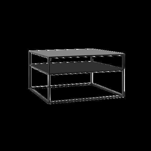 Coffee Table 2 FLOOR TENSIO METAL 80, black