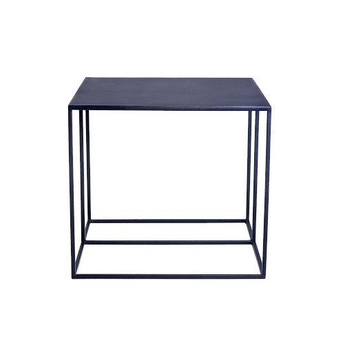 Coffee table TORGET METAL 50 - black