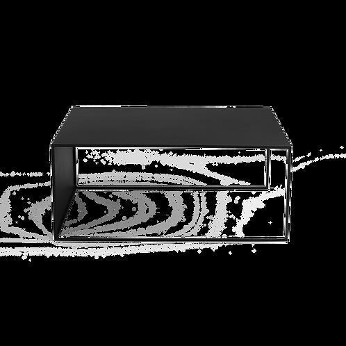 Coffee table 2WALL METAL 100x60, black