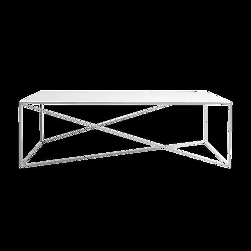 Coffee Table MEMO METAL 140, White