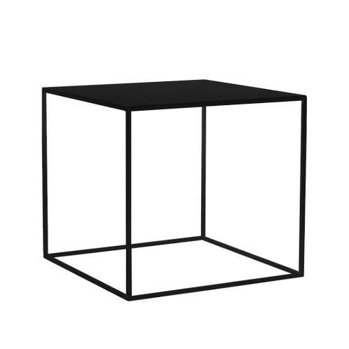 Coffee Table TENSIO  METAL 50, black
