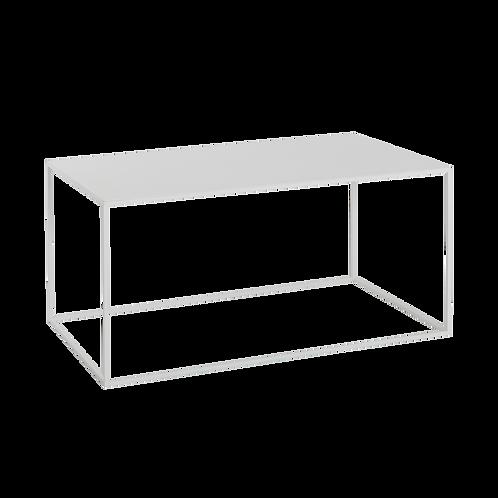 Coffee Table TENSIO  METAL 100x60, white