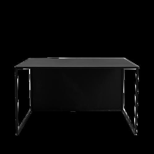 Coffee table 2WALL METAL 80, black