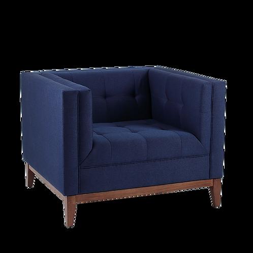 Armchair BY TOM, Inkjet (et80), Walnut