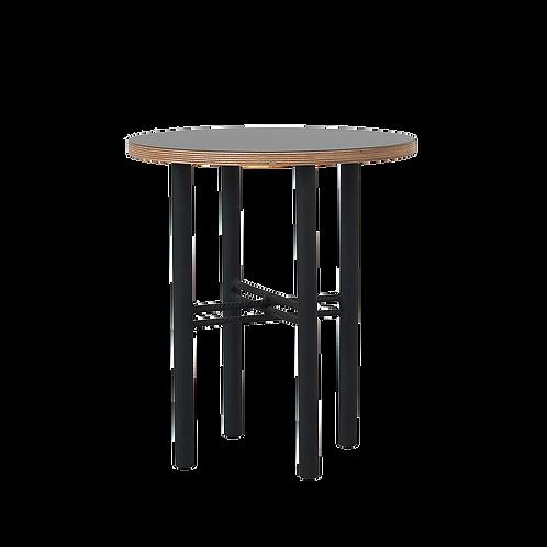Coffee table PENTO 40 - black, black