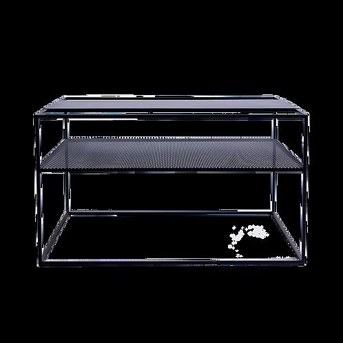 Coffee table MATRIX METAL 80 - black
