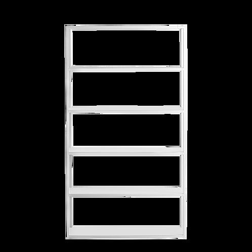 Bookcase HYLLER METAL 100×180