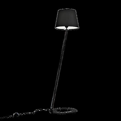 Floor Lamp SHADE LAMP- black shade black leg