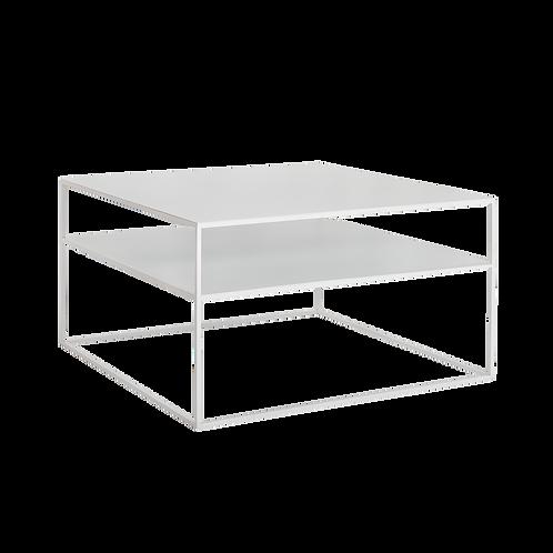 Coffee Table 2 FLOOR TENSIO METAL 80, white