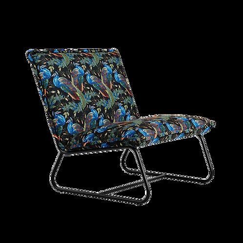Armchair PILLOW BLUEBIRD BLACK