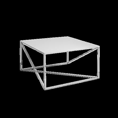 Coffee table MEMO METAL 100x100 grey