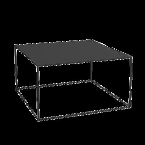 Coffee Table TENSIO METAL 80, black
