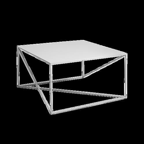 Coffee Table MEMO METAL 80x80, Grey