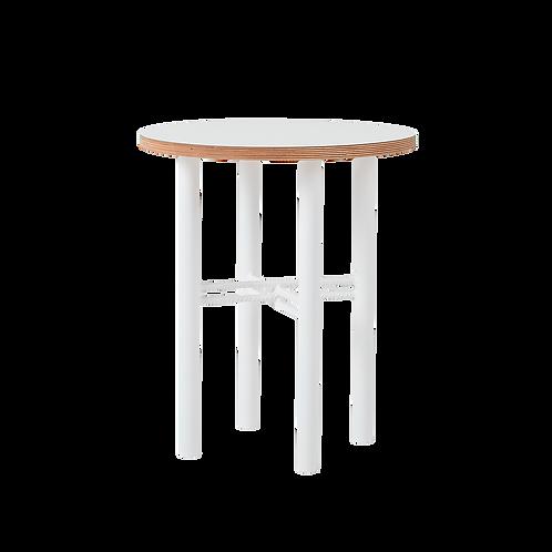 Coffee table PENTO 40 - white, white