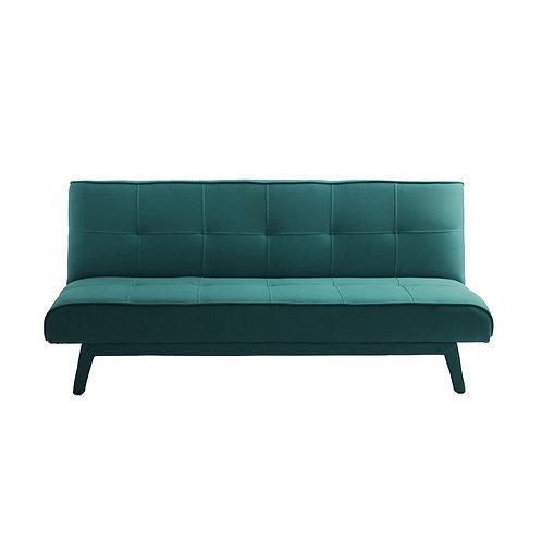 2 Seater Bed Sofa MODES, Sea Breeze (et85), Black