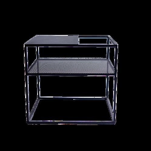 Coffee table MATRIX METAL 50 - black