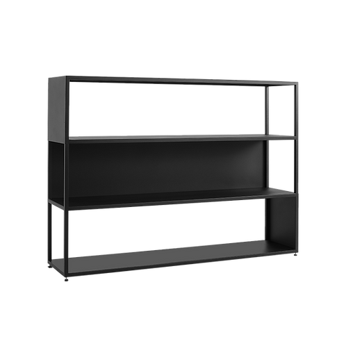 Bookcase HYLLER SIDE METAL 150×110