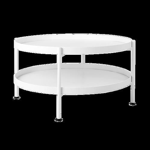 Coffee Table HANNA METAL 80-2F - white