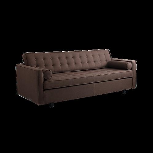 3 Setaer Bed Sofa TOPIC, Coffe (1305), Black