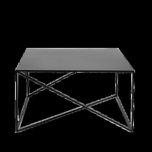 Coffee table MEMO METAL 100x100 black