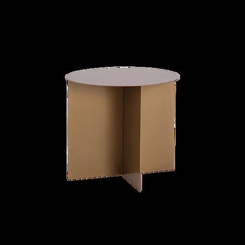 Coffee Table OLI METAL 50 ROUND, gold