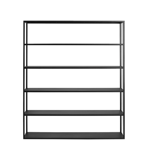 Bookstand HYLLER METAL 150x180, black