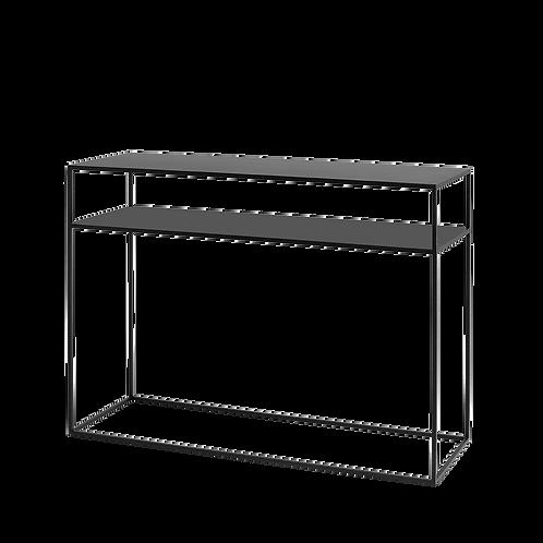 Console TENSIO 2 FLOOR METAL 100x35, black