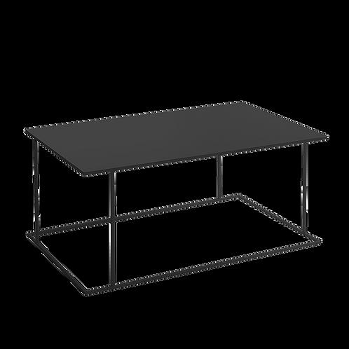 Coffee table WALT METAL 100x60, black