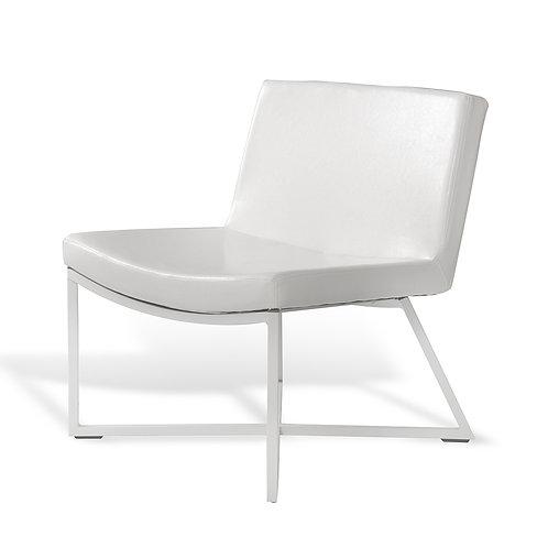Armchair ZERO, Eco Leather white, white