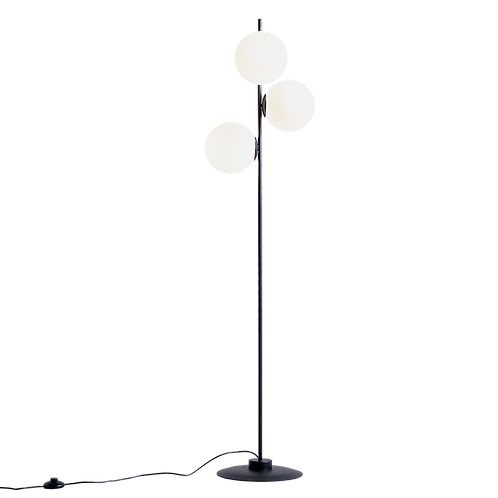 Floor Lamp BOBLER - black