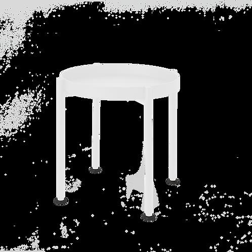 Coffee Table HANNA METAL 40-1F - white