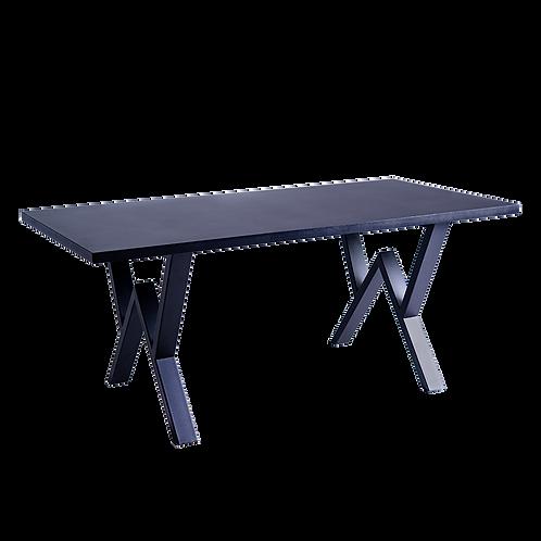 Dining table VW 160 - black, black