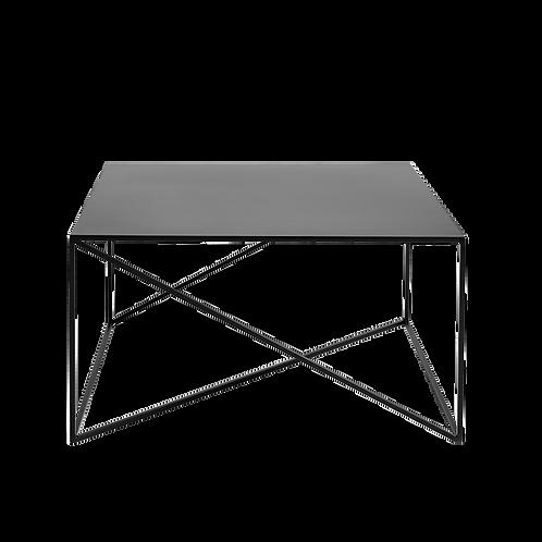 Coffee Table MEMO METAL 80x80, Black