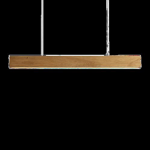 Ceiling Lamp LINE PLUS L WOOD - natural oak