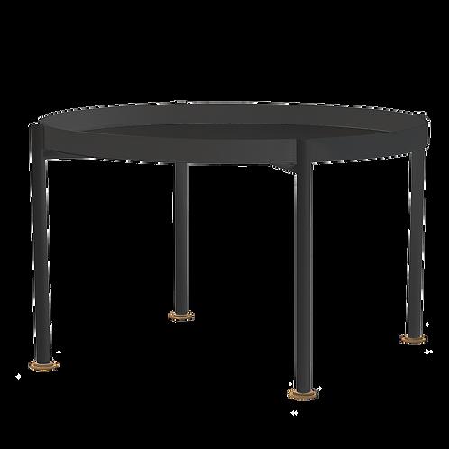 Coffee Table HANNA METAL 80-1F - black