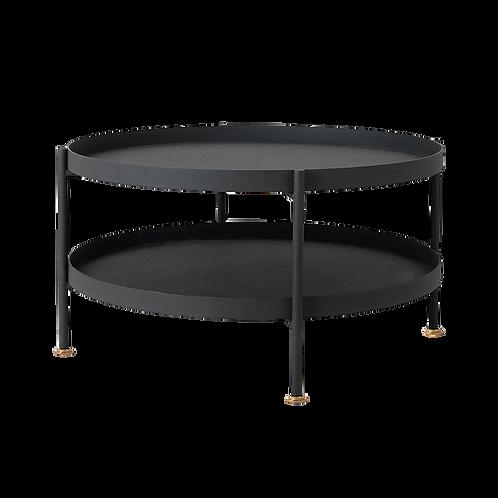 Coffee Table HANNA METAL 60-2F - black