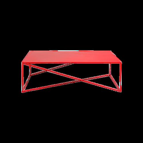 Coffee Table MEMO METAL 140, Red