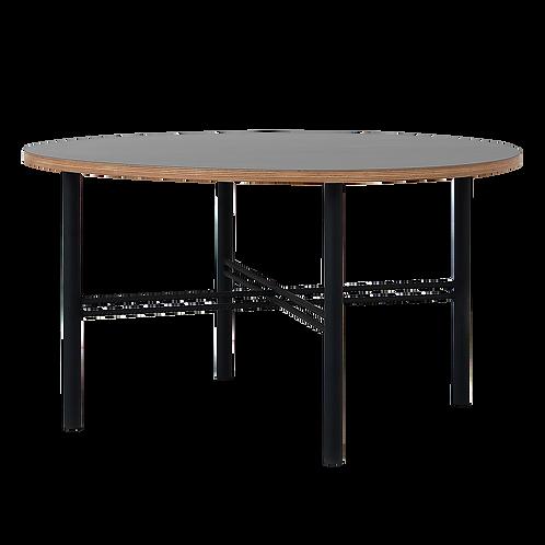 Coffee table PENTO 80 - black, black