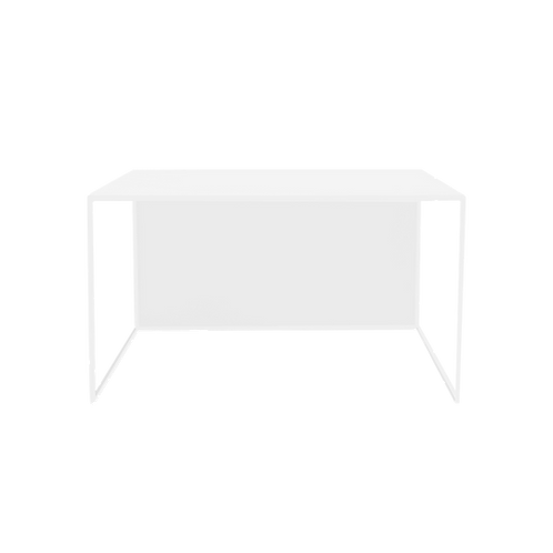 Coffee table 2WALL METAL 80, white