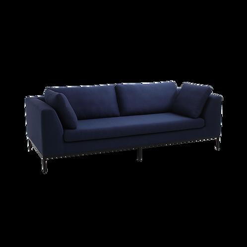 3 Seater Sofa AMBIENT, Inkjet (et80), Black